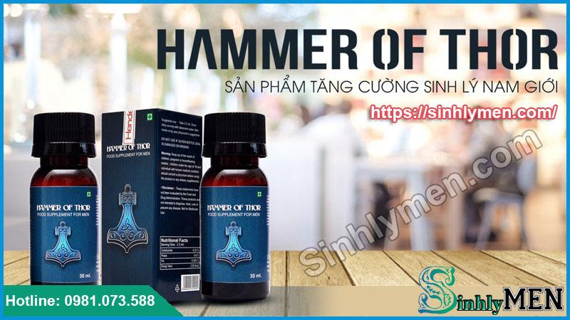 Giọt Dưỡng Chất Hammer Of Thor Giá Rẻ