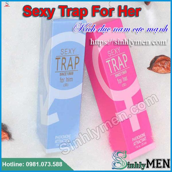 Nước Hoa Kích Dục Nam Sexy Trap For Her Cực Mạnh