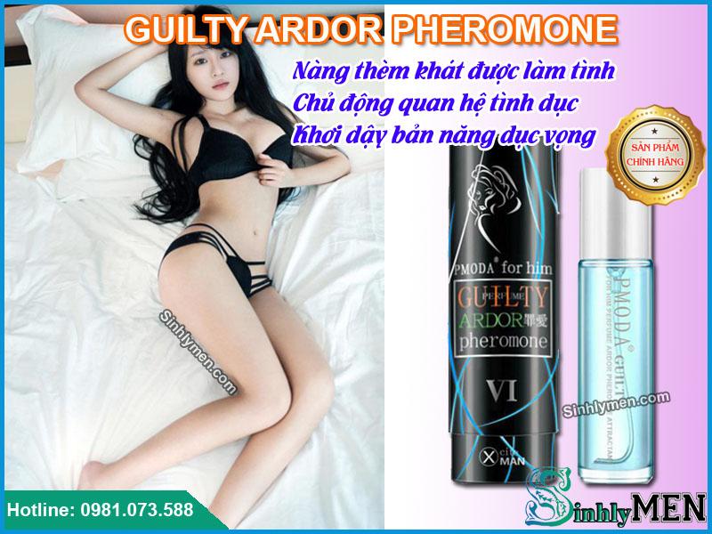 nước hoa kích dục nữ giới