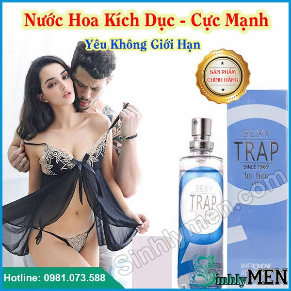 Nước Hoa Kích Dục Nữ Sexy Trap For Him Giá Rẻ