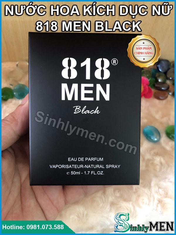 Tác Dụng Nước Hoa Kích Dục Nữ 818 Men Black