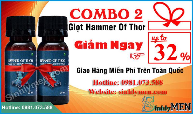 Combo khuyen mai 2 Hammer Of Thor
