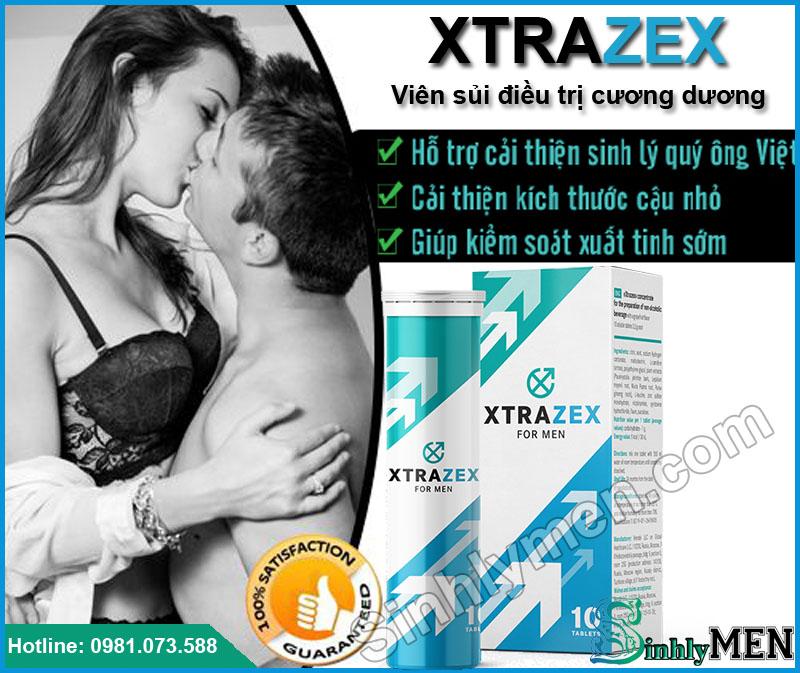 Công dụng của Viên sủi Xtrazex