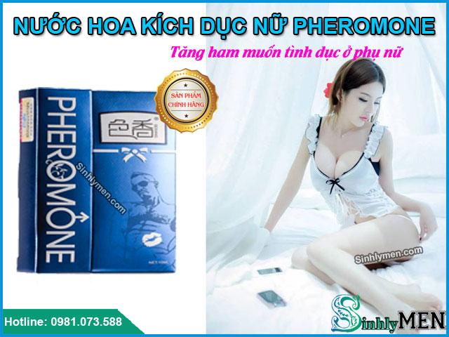Biểu hiện khi chị em hít phải nước hoa kích dục nữ Pheromone